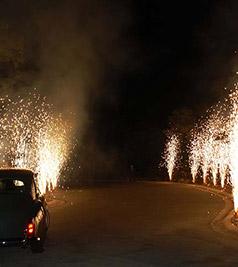 Fuochi d'artificio e pirotecnica